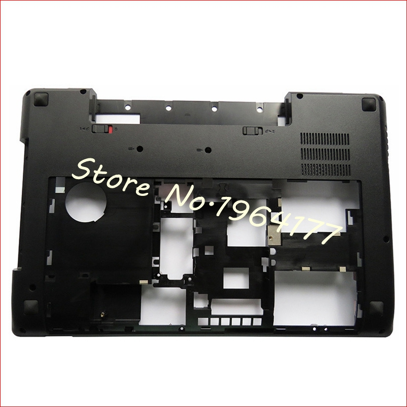 New laptop Bottom case cover For Lenovo Y580 Y585 Y580N Y580A series MainBoard Bottom Casing case Base with TV hole brand new laptop bottom case cover for lenovo ideapad y580 y580a y580n y585
