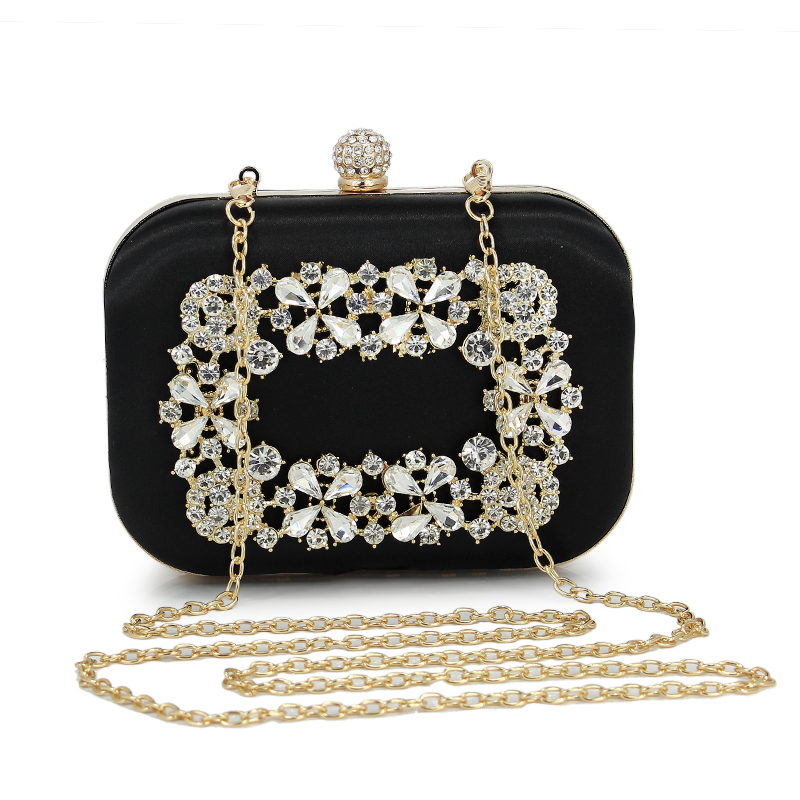 New Clutch Evening Bags Rhinestones Evening Bags Purse ShoulderBag For Wedding Diamonds Lady Purse Mini Evening Bags diamonds women evening bags chain shoulder purse handbags one side rhinestones evening clutch bags wedding party purse