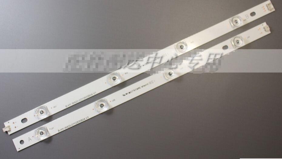 4 sets x LED Strip 8-leds for LG INNOTEK DRT 3.0 42_A/B TYPE 42LB5610 42LB5510 42LY320C 42GB6310 TV LCD Replacement 825mm антилай innotek bc 50b в ярославле