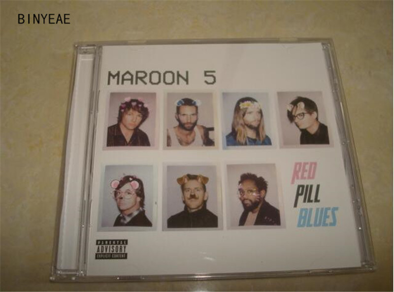 Free Shipping: Maroon 5 Red Pill Blues Collectors Edition pop music CD seal