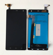 """Axisinternational pour 5.0 """"THL 5000 écran LCD + écran tactile panneau numériseur blanc/noir couleur livraison gratuite"""