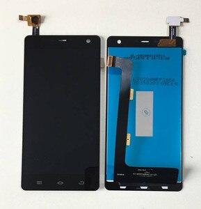 """Image 1 - Axisinternational pour 5.0 """"THL 5000 écran LCD + écran tactile panneau numériseur blanc/noir couleur livraison gratuite"""