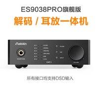 2018 Новый Quloos Melokin DA9.1 DSD декодер ESS9038 PRO Hi Fi музыка для рабочего декодирования усилитель для наушников ЦАП USB доп I2S