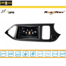 For KIA Picanto (R.H.D.) 2012~2014 – Car GPS Navigation System + Radio TV DVD iPod BT 3G WIFI HD Screen Multimedia System