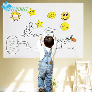 0.45x2M Children Whiteboard Wall Stickers Removable PVC Draw Blackboard Sticker Walls Art Decal Home Graffiti Wallpaper For Kids