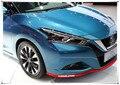 Estilo do carro da Frente Lábio Saia Lateral Guarnição Do Corpo do Amortecedor Dianteiro Para Peugeot 206 207 208 301 307 308 407 408 508 3008 4008 108 HX1 EXALTAR