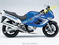 Лидер продаж, для Suzuki Katana GSX600F GSX750F 05 06 GSX 600 F GSX 750 F 2005 2006 сине белые Кузов Мотоцикл Обтекатели