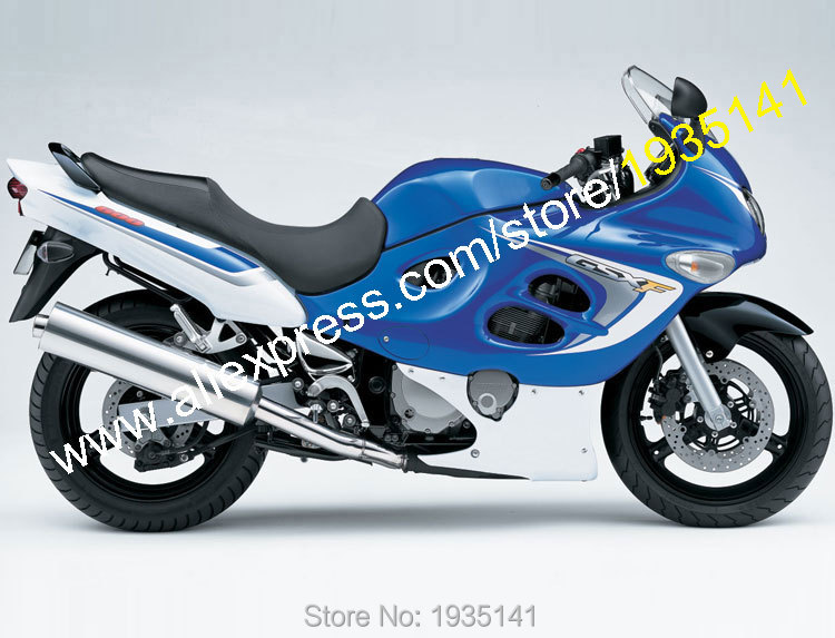 Hot Sales,For Suzuki Katana GSX600F GSX750F 03 04 05 06 GSX 600 F GSX 750 F 2003 2004 2005 2006 Blue White Motorcycle Fairings комбо для гитары boss katana mini