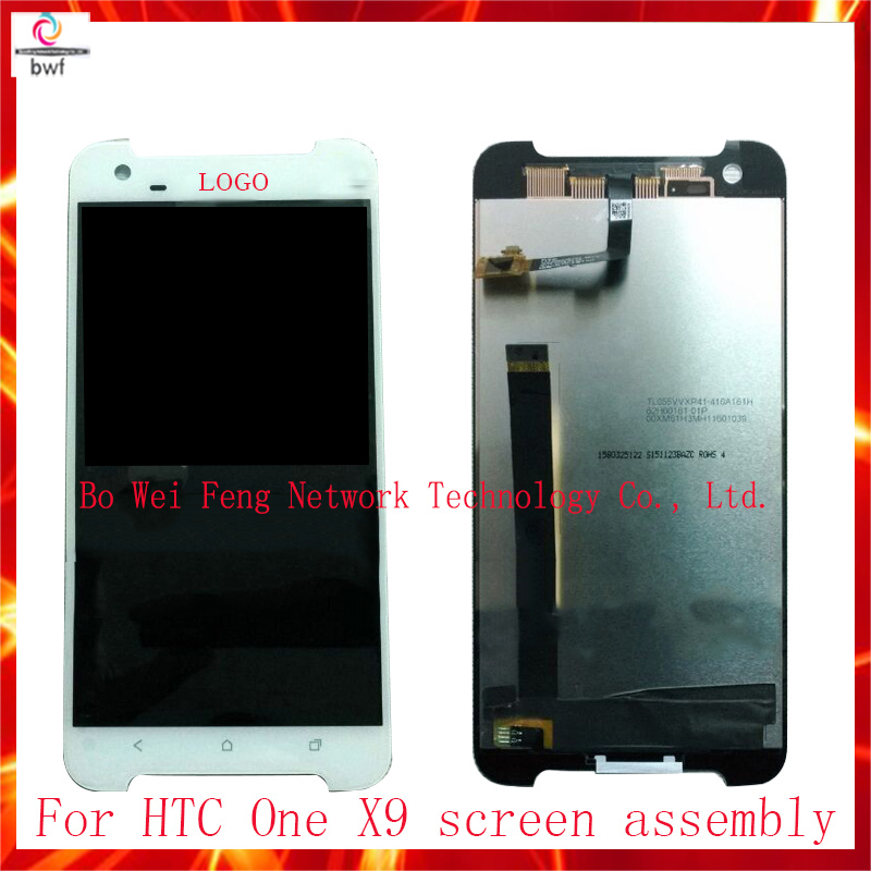 High Quality Full LCD Display With Touch Screen Digitizer Assembly For HTC One X9 Replacement Parts Free Shipping high quality full lcd display touch