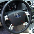 For Ford Focus, steering wheel Fawkes sequins, sequins, pieces 4, ABS electroplating