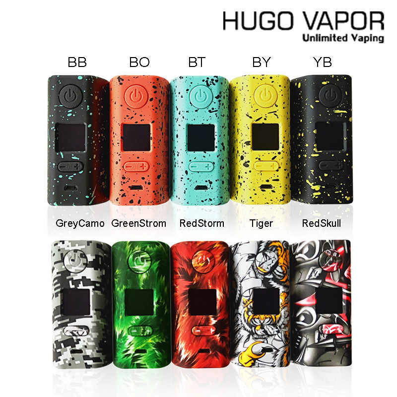 100% Original  Electronic Cigarette Hugo Vapor Rader ECO 200W Box MOD Light-weightmod by dual 18650 vs  Drag 2 Vape mod