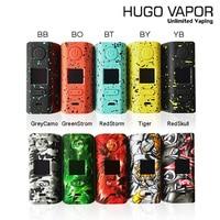 100% Original Electronic Cigarette Hugo Vapor Rader ECO 200W Box MOD Light weightmod by dual 18650 vs Drag 2 Vape mod
