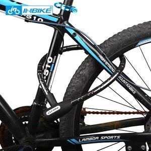 Image 5 - INBIKE велосипед замок 0,85 м Водонепроницаемый Anti theft Cable Lock Высокое качество MTB велосипеда замки с 3 Ключи CB106