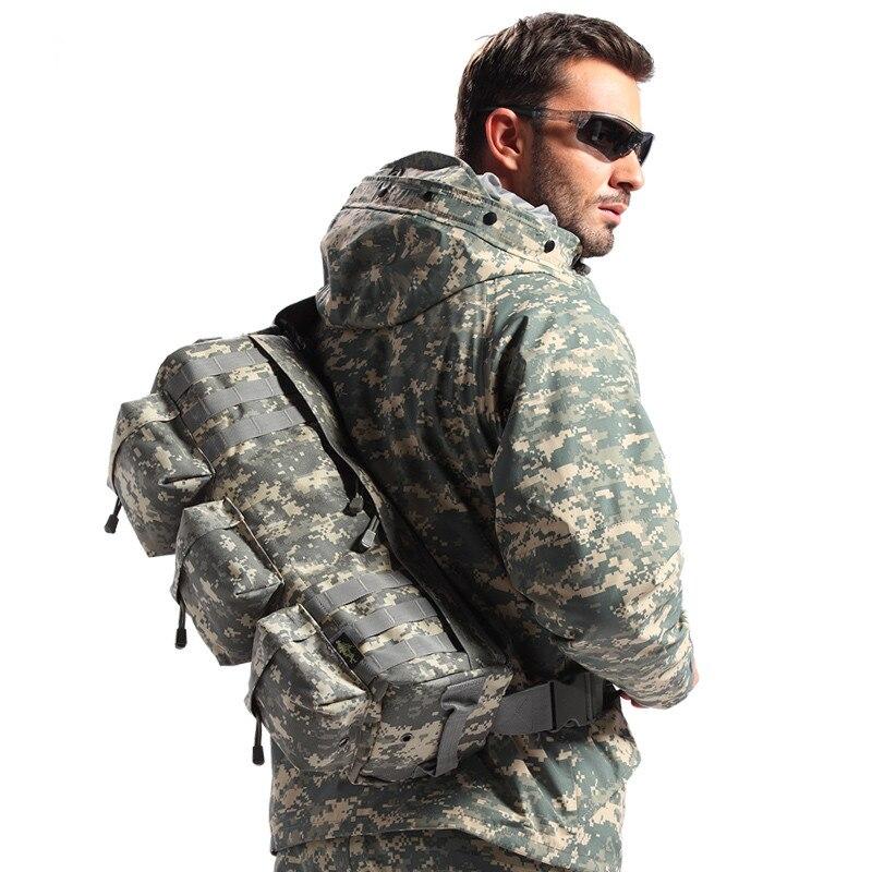 Prix pour Extérieure Sling Sacs Tactique Formation Sac À Dos Camo Armée Sac À Dos D'assaut Wargame Chasse Militaire aéroportée Unique Épaule Sac