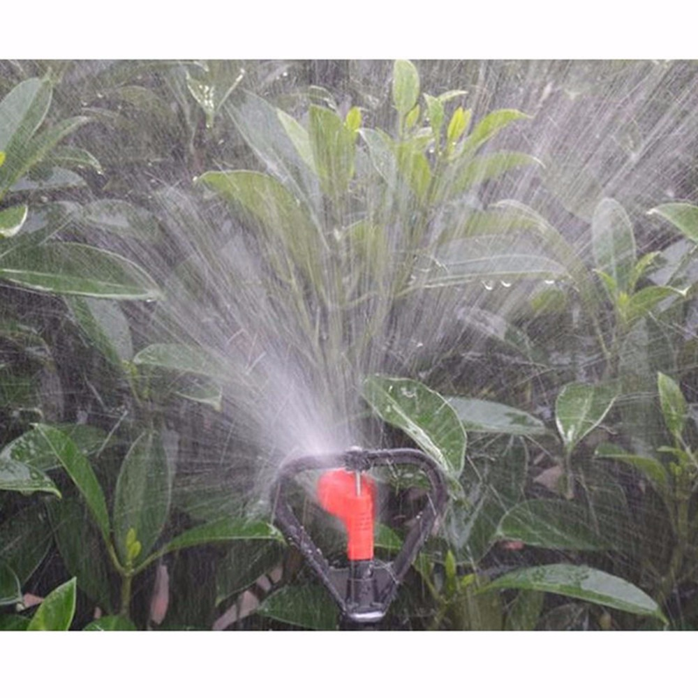 Wholesale 2020 1Pcs 360 Degree Rotatable Lawn Irrigation DN15 Water Sprinkler Head For Yard Garden Watering Tools