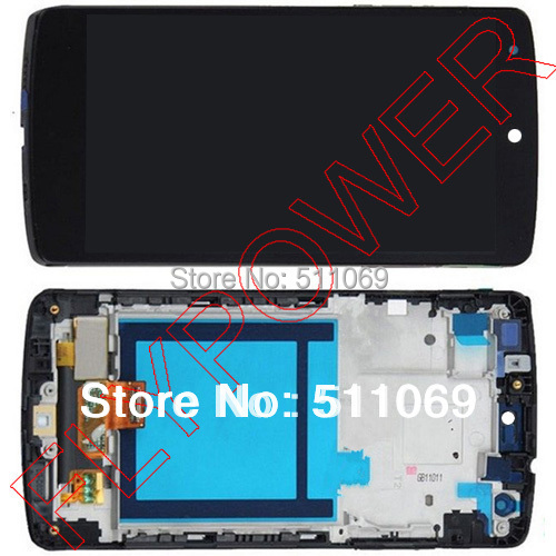 For LG Nexus 5 D820 D821 Lcd Screen with Touch Screen digitizer assembly with frame by free shipping; 100% warranty for lg google nexus 5 d820 d821 lcd screen display with touch screen digitizer assembly frame by free shipping 100% warranty