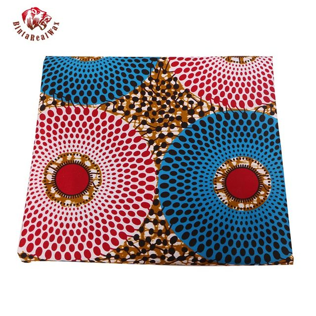 2018 Ankara African Polyester Wax Prints Fabric Super Hollandais Wax High Quality 6 yard African Fabric for Party Dress PL536 4
