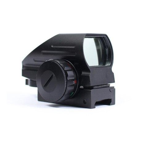 caca tatica reflexo vermelho verde laser 4 reticulo holografico projectado ponto vista scope rifle airgun