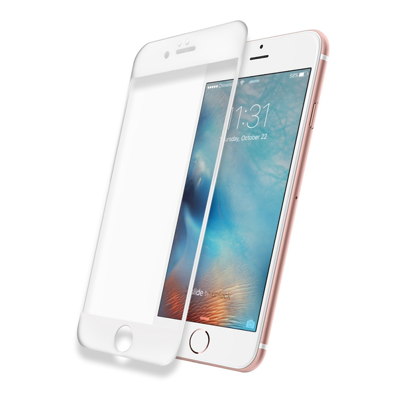 <font><b>DEVIA</b></font> for iPhone 6s Plus/6 Plus <font><b>Tempered</b></font> <font><b>Glass</b></font> 0.15mm <font><b>Ultra-thin</b></font> 3D <font><b>Full</b></font> <font><b>Covering</b></font> <font><b>Tempered</b></font> <font><b>Glass</b></font> Film for iPhone 6s Plus5.5-inch