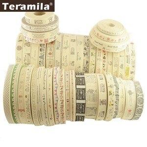 Teramila Cotton Garment Labels Ribbons 2m/Lot Etiquetas Handmade DIY Sewing Craft Clothes Quilt Accessories 2.5cm 3cm 4cm Width