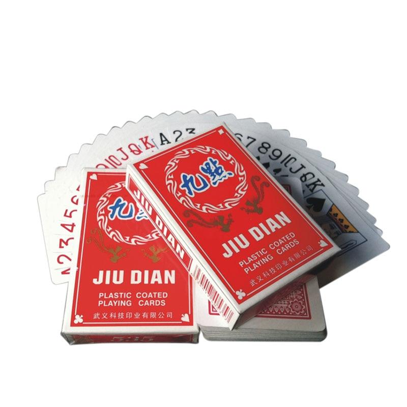 Cartas De Poker 2 Set Playing Cards Game Poker Red Standard Poker Cartas De Jogar Paper For Playing Card Marked Playing Cards