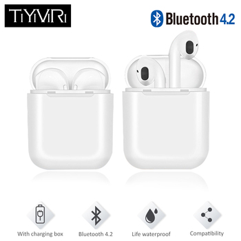 TiYiViRi i9 Tws Bluetooth Earphones Wireless Stereo Headphones Wireless Earbuds Noise Canceling Mic for iphone Android Air Pods