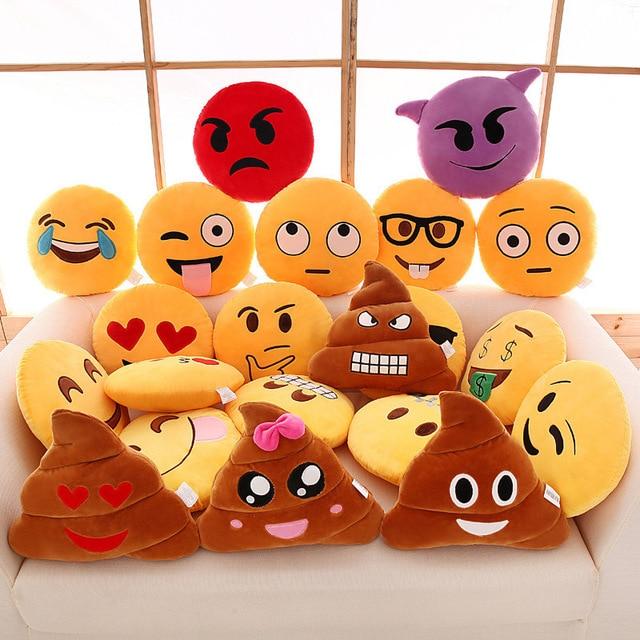 directly for qq expression pillow emoji back cushion sofa plush