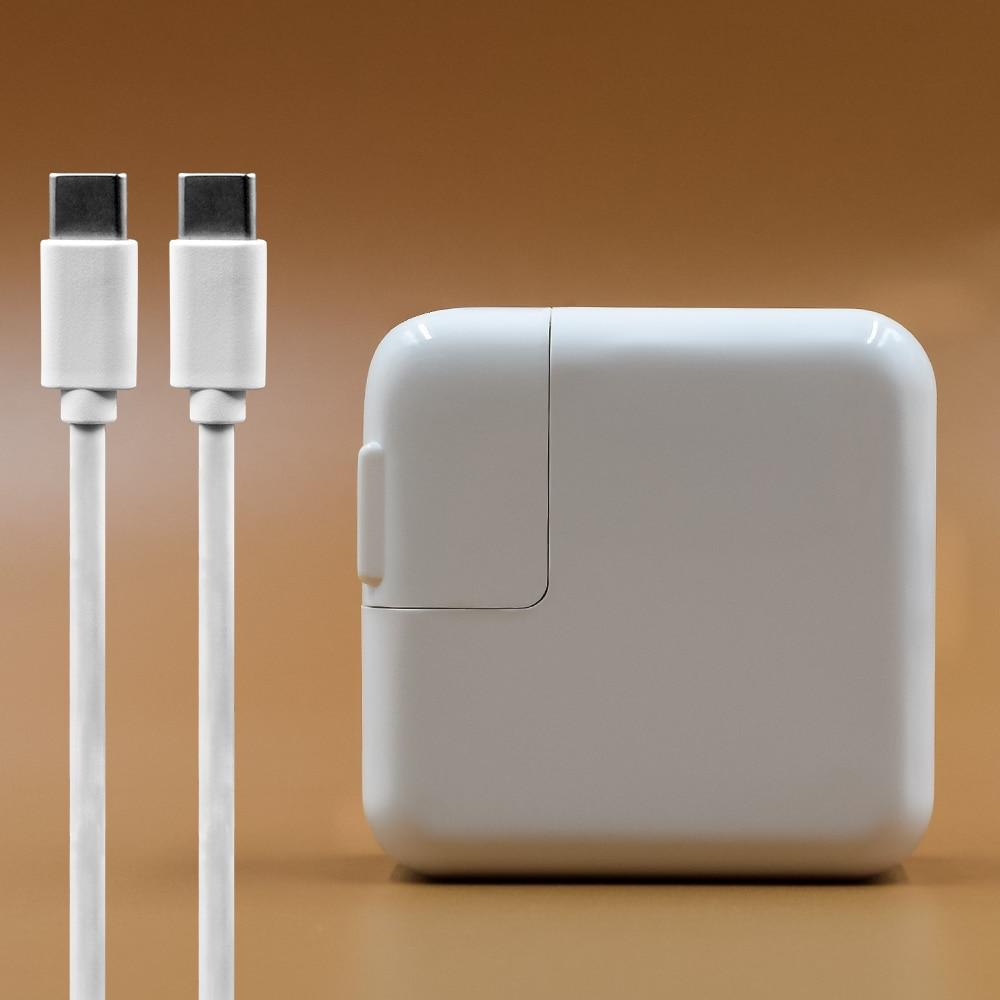 Für apple 29 watt USB-C Typ-C Power Adapter Ladegerät Für Neueste Macbook Pro 12 zoll A1534 1540 1646 (nur in 2015)