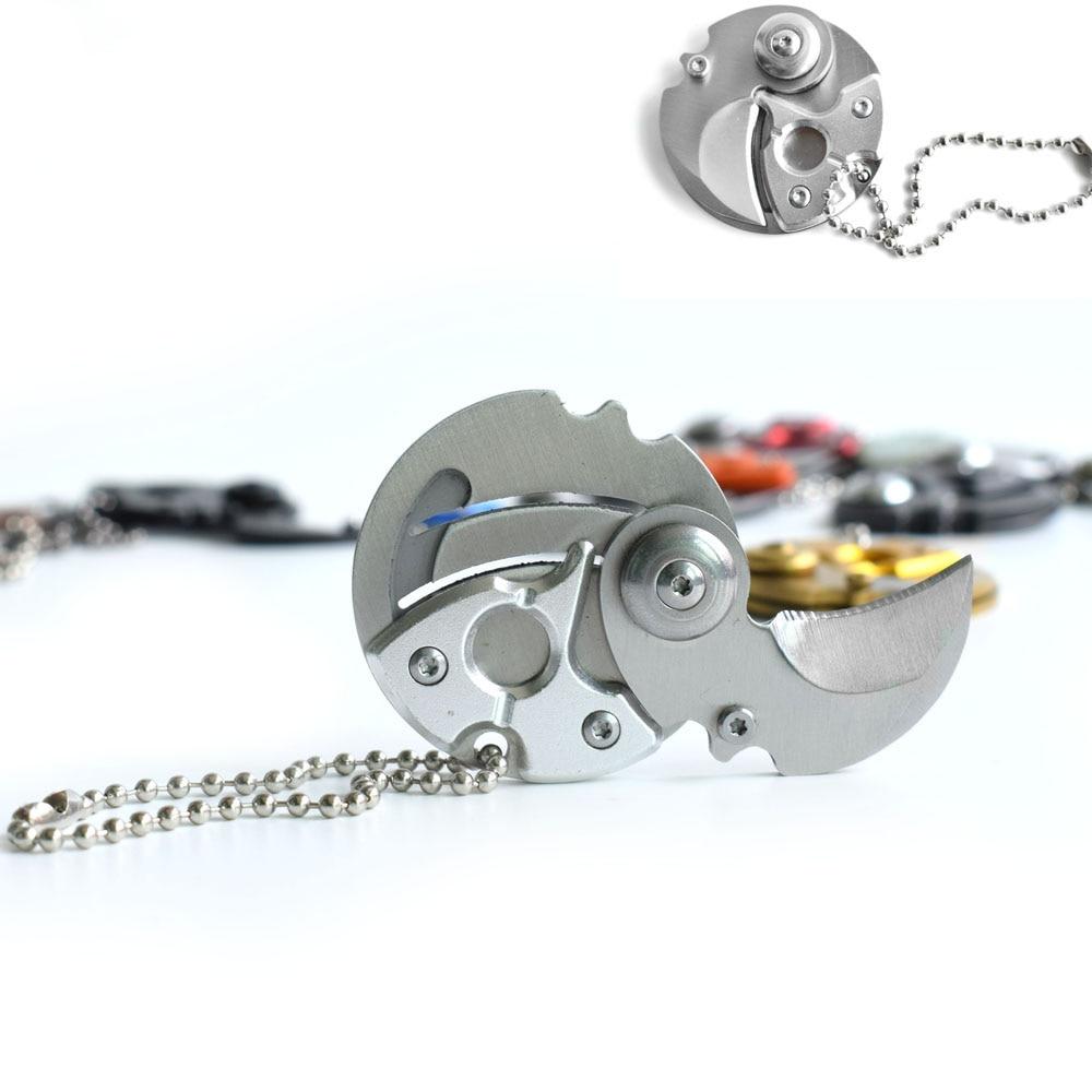 EDC kaasaskantav võtmega klappnoa kinkejaht ellujäämise - Käsitööriistad - Foto 2