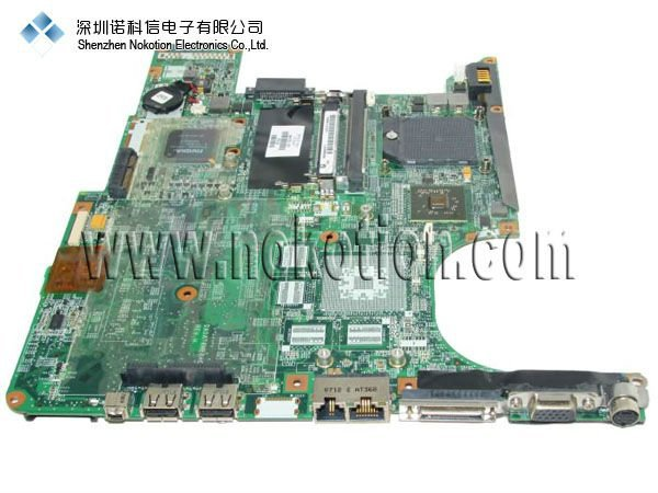 NOKOTION 443775-001 Laptop motherboard for HP PAVILION DV6000 series GeForce Go 6150 DDR2 nokotion 653087 001 laptop motherboard for hp pavilion g6 1000 series core i3 370m hm55 mainboard full tested