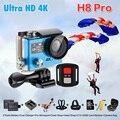 Оригинал ЭКЕН H8 Pro Ультра 4 К Камеры Действия Wi-Fi Dual LCD Ambarella IMX078 дистанционного управления Камеры Водонепроницаемый Шлем Видеокамера H8pro