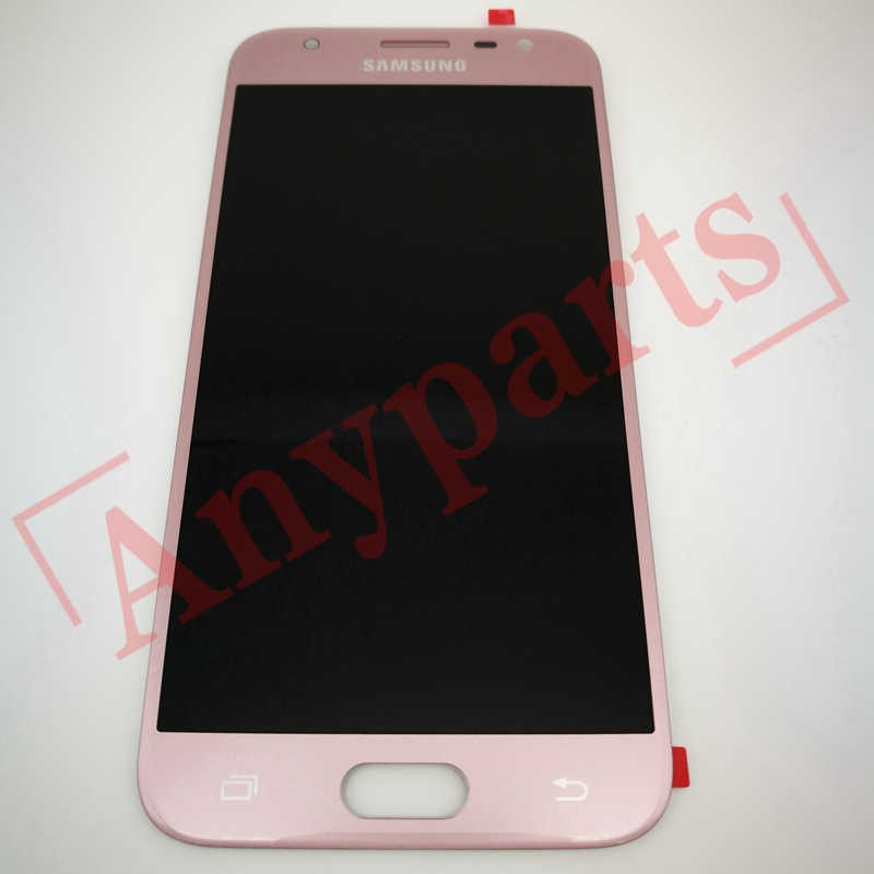 Для Samsung Galaxy J3 2017 J330 J330F SM-J330G ЖК-дисплей Дисплей Сенсорный экран 100% тестирование высокого качества J330 ЖК-дисплей Экран + Стикеры + Стекло
