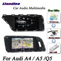 Liandlee автомобиля Android Системы для Audi A4 A5 Q5 2009 ~ 2015 стерео радио ТВ Carplay FM Wi Fi gps Navi навигации BT Экран мультимедиа