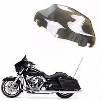 Light Smoke 9 Windscreen Windshield For 2014 2015 2016 2017 Harley Touring Electra Street Glide FLHT