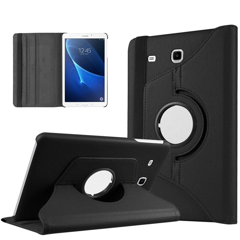 Galaxy Tab A 7.0 Smart 360 pöörlev Litchi PU nahast kaitseümbris - Tahvelarvutite tarvikud - Foto 2