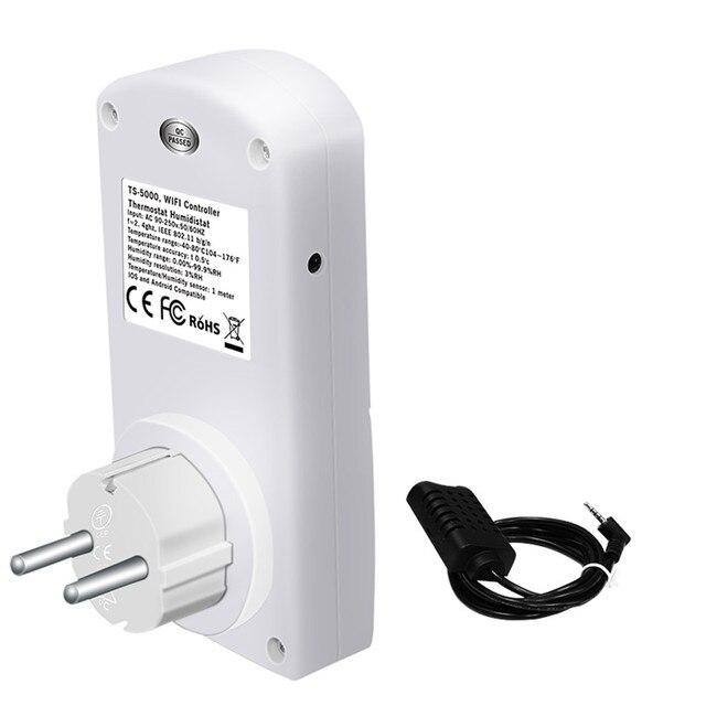 EPULA 2.4G wtyczka Wi-Fi gniazdo inteligentny przełącznik wylot z temperatury urządzeń gospodarstwa domowego pilot zdalnego sterowania aplikacji dla iOS/Android