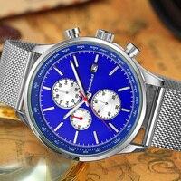 READEEL мужские s часы лучший бренд класса люкс кварцевые часы мужские повседневные тонкие сетчатые стальные Дата водонепроницаемые спортивны