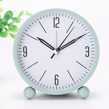 Lounged brief fashion child bedside mute small alarm clock personalized cartoon electronic