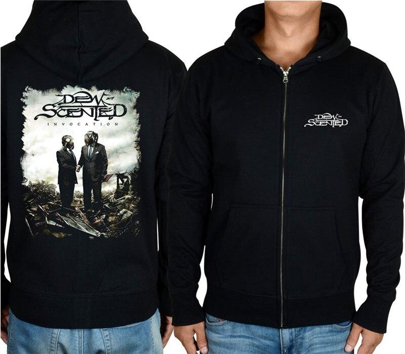 En Veste Zipper Shell 1 shirt Conception 5 Hoodies Dew Coton Molleton 2 Punk 3 Métal 6 Survêtement Lourd Hardrock Sweat scented 7 Rock 7 4 Sweat FZqxpEw