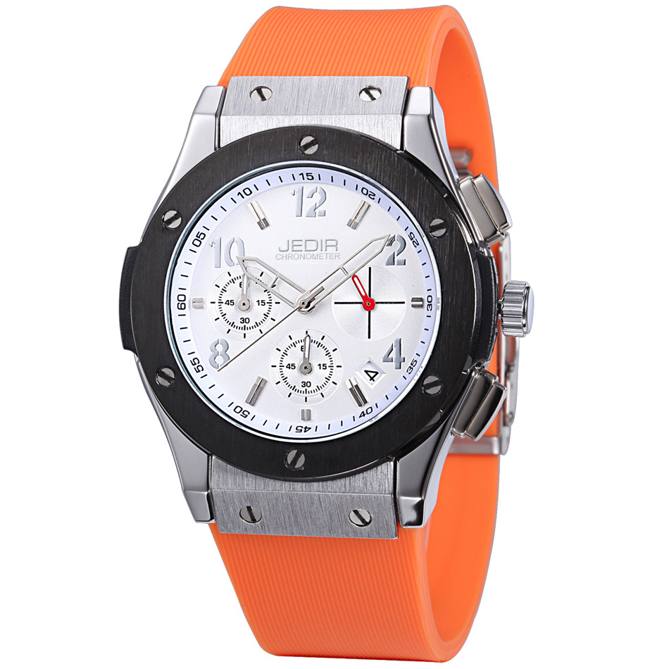 Image 4 - Mens Watches Top Luxury Brand Men Silicone Hublo Sports Watches Men's Clock Waterproof Military Wrist Watch Relogio Masculino-in Quartz Watches from Watches