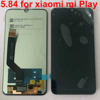 "Original 100% Test For 5.84""lcd display with touch screen digitizer Assembly for xiaomi play replacement for mi play lcd display"