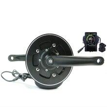 Бесплатная доставка комплект электрического велосипеда 48V500W 36V350W Tongsheng TSDZ2 среднемоторный привод комплект с датчиком крутящего момента