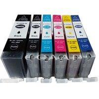 PGI-280 CLI-281 pgi280 cli281 Compatível Do Cartucho De tinta Para impressora Canon TS8120 TS9120 TR7520 TR8520 TS6120