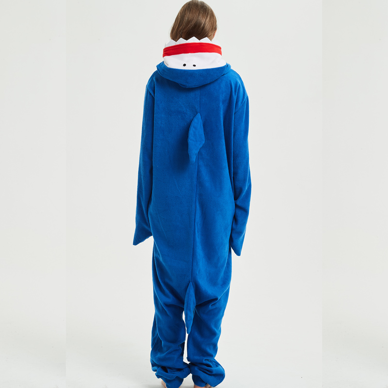 shark kigurumi for adult