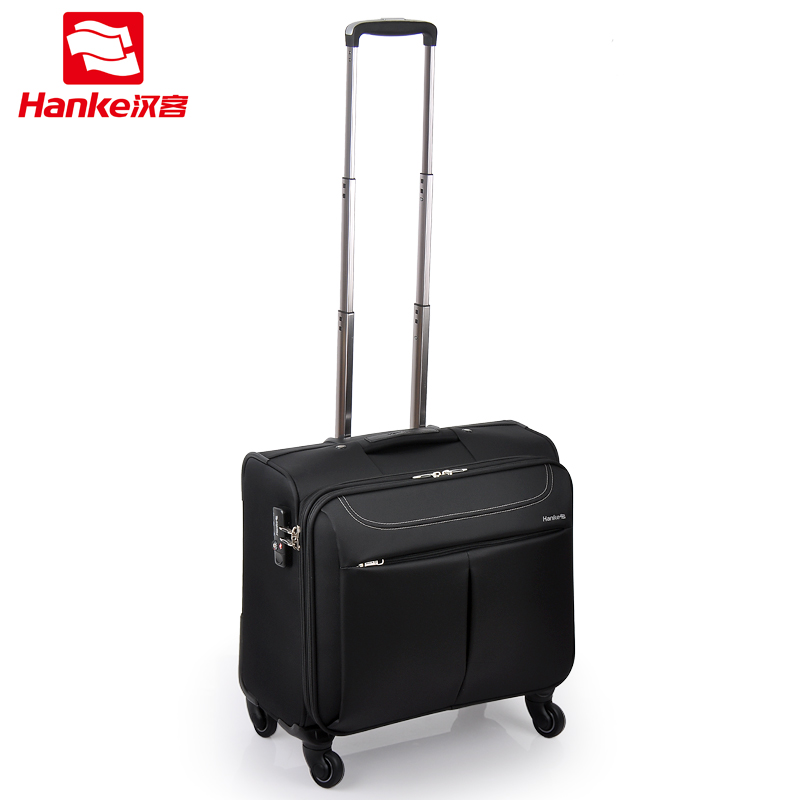Commercial trolley luggage 16 travel bag luggage bag universal wheels luggage drag boxes,high quality waterproof nylon bags