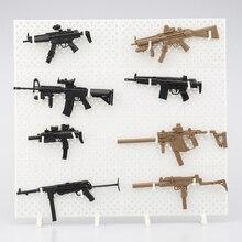 4D Gun Modell Display Rahmen Soldat Waffe Kombination Zersetzbaren Schaufenster