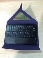 Jivan Newest Touch Panel Keyboard Case For Lenovo A3500 Tablet Pc Lenovo A3500 Keyboard Cover Lenovo