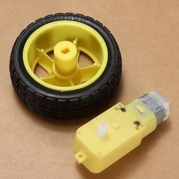 8Pcs Robot Smart Car Wheel