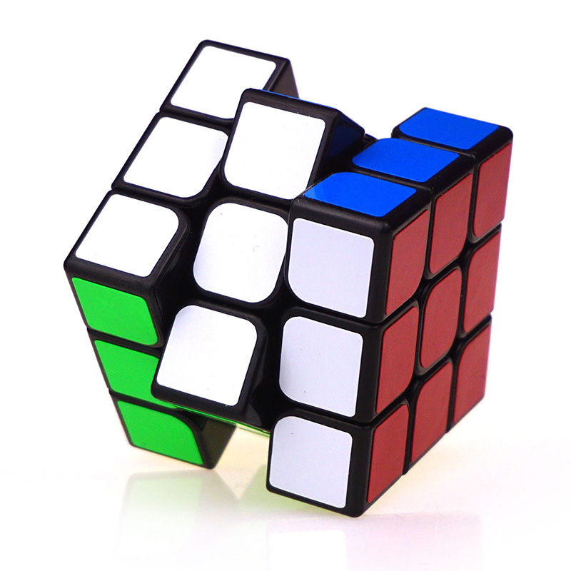 Magic Cube 3x3x3 Competition Speed Puzzle Cubes Toys Professional For Children Adult Or Kids Education Toy White Yellow TY0315