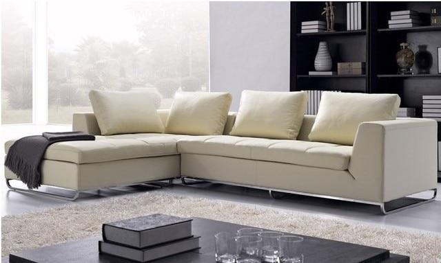 € 1452.22 |Livraison gratuite salon arabe canapés en cuir de Grain  supérieur L en forme d\'angle canapé moderne ensemble, 2013 nouveau Design  canapés ...